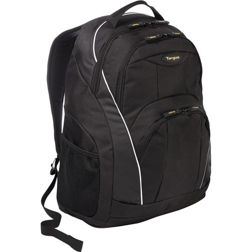 mochila targus motor, laptop hasta 16 , negro con detalles b