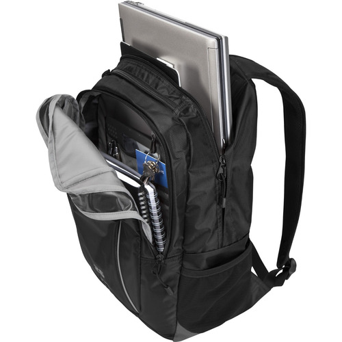 mochila targus sport 26l, laptops hasta 16 , negro, nylon re