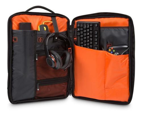 mochila targus steelseries x gaming 17.3  laptop (tsb941bt)