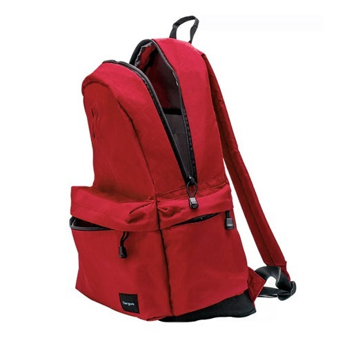 mochila targus strata 15.6  laptop (tsb81303) red