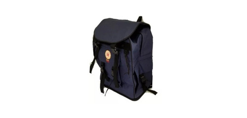 mochila tática camping canadense azul samu