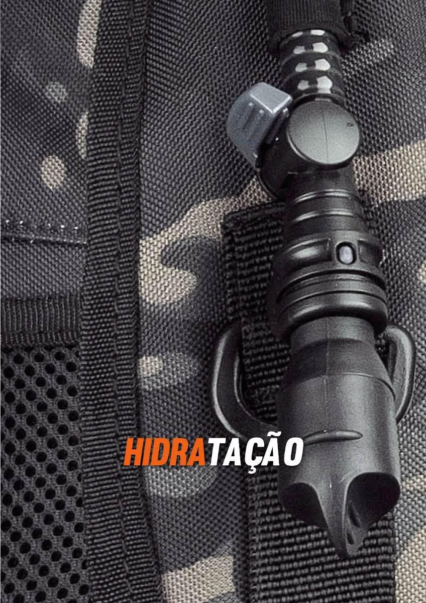 mochila tática invictus assault modular hidratação + brinde. Carregando  zoom. a34c83b6459