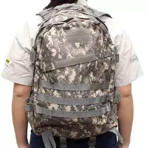 mochila tática militar army 50l profissional 3d