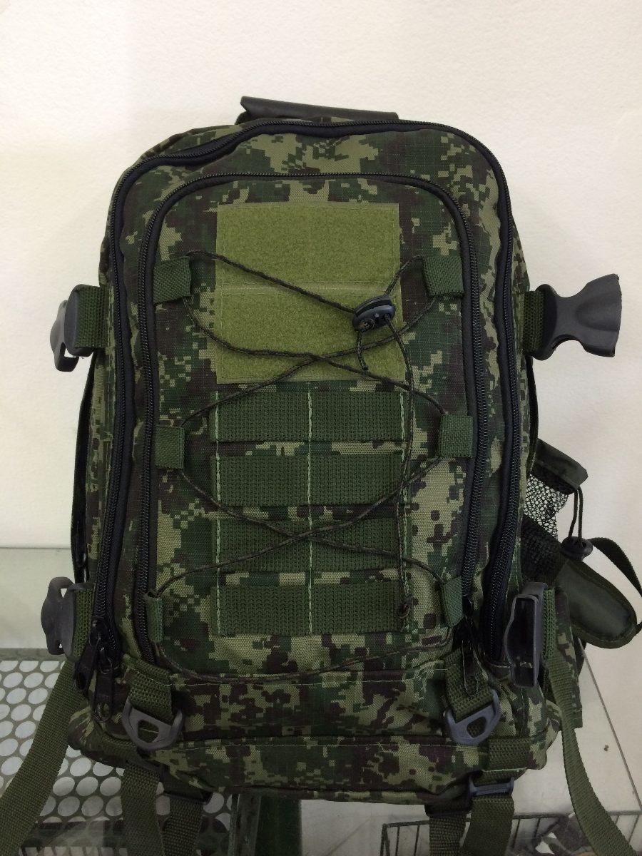 a120b697e Mochila Tática Militar Camuflado Digital Exército - R$ 250,00 em ...