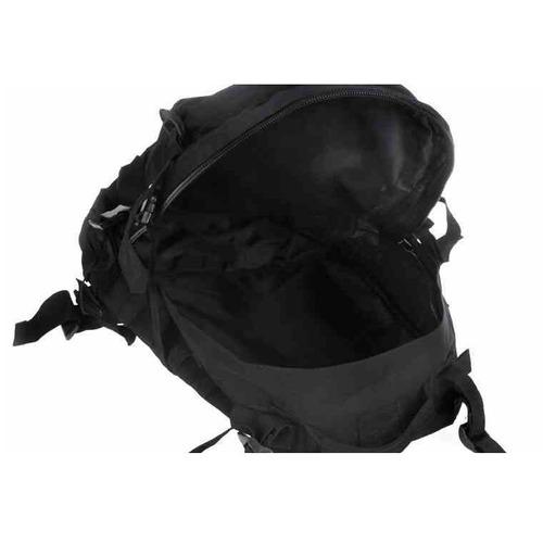 mochila tática molle modular militar preta reforçada trilha
