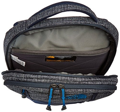 mochila the north face microbyte, urban navy heather / banf