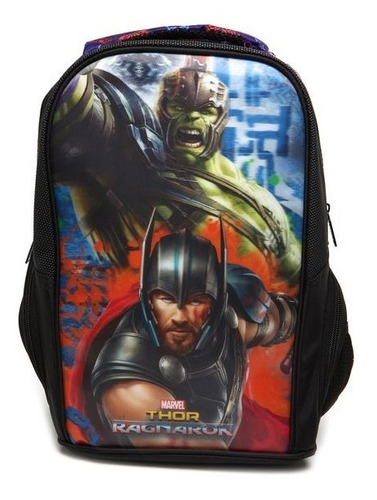 mochila thor e hulk gladiators  vingadores xeryus - 7123