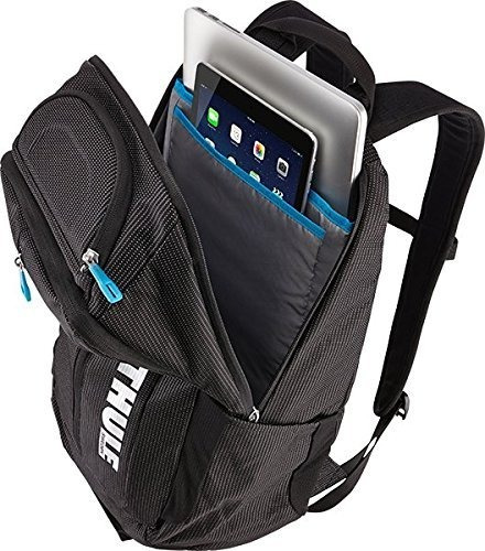 mochila thule crossover 25l laptop backpack, black