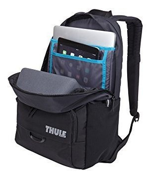 mochila thule departer 21l daypack- dark bordeaux/vibrant or