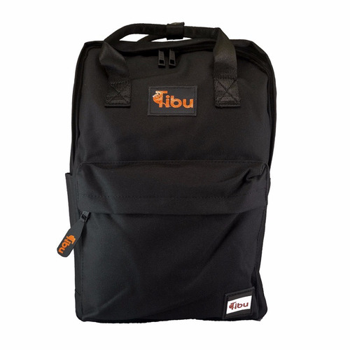 mochila tibu, modelo indus, color negro (envío gratis)