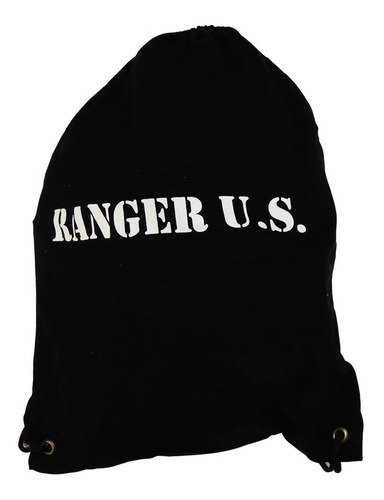 mochila tipo saco - gym sack ranger school regement army