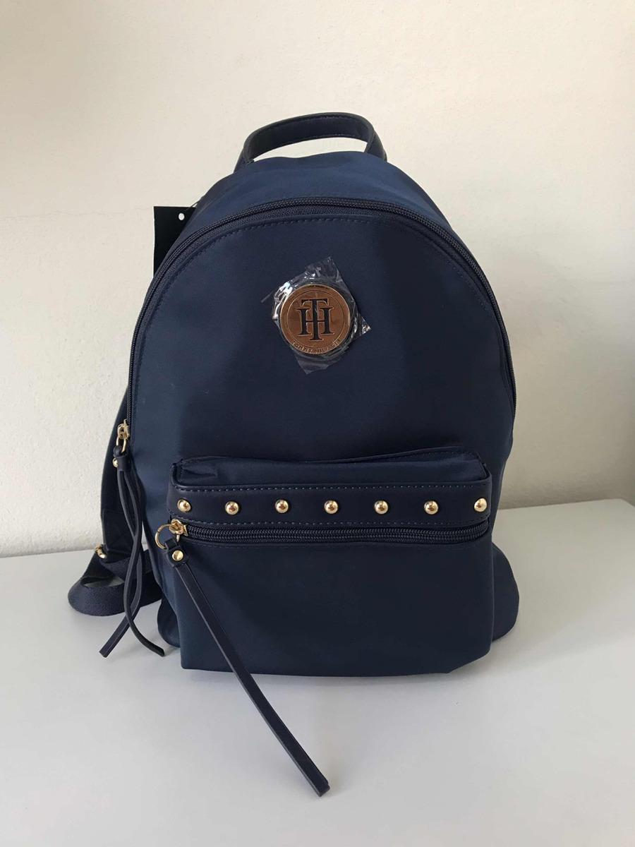 09cba516b Mochila Tommy Hilfiger Azul Marinho - R$ 299,99 em Mercado Livre
