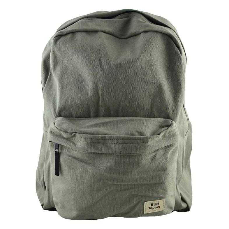 a28ca7d820311 Mochila Topper Basic Unisex Verde -   660