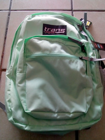 Mochila Trans By Jansport Color Verde Pistache 45x34x19
