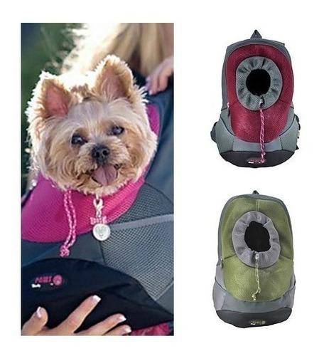 mochila transportador para perros