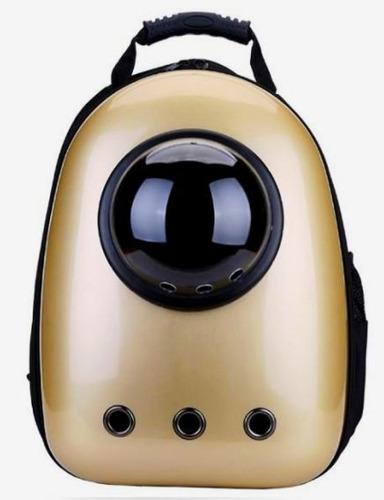 mochila transportadora mascota astronauta burbuja viaje