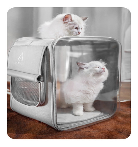 mochila transportadora para gatos , perros stm