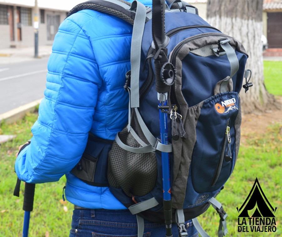 en venta b63f4 4a351 Mochila Trekking Camping Viajes Montaña 40 Litros Reforzada!