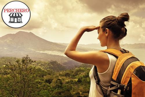 mochila trekking, camping y viajes 55 ltr