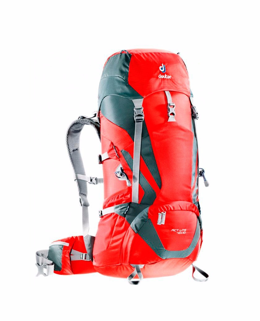 Mochila Trekking Deuter Act Lite 40 + 10 Litros Montañismo - $ 4.350 ...