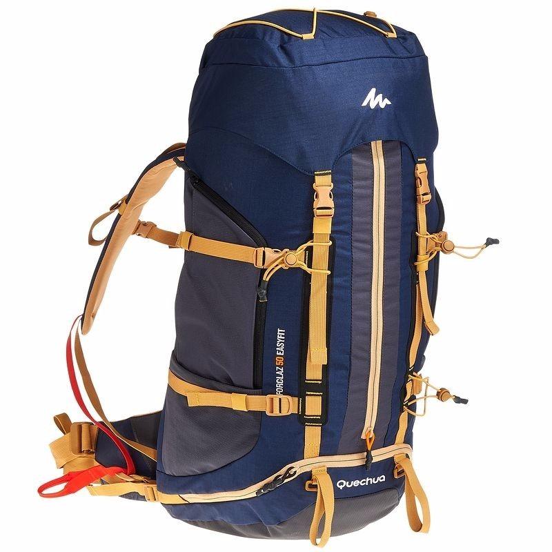 8725637eb mochila trekking easyfit 50 litros quechua. Cargando zoom.