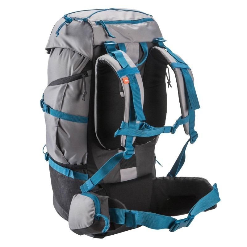 b00bb9f68 mochila trekking forclaz 50 litros gris quechua. Cargando zoom.