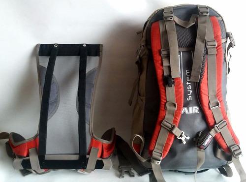 mochila trekking outdoor tactica 40 litros no the north face