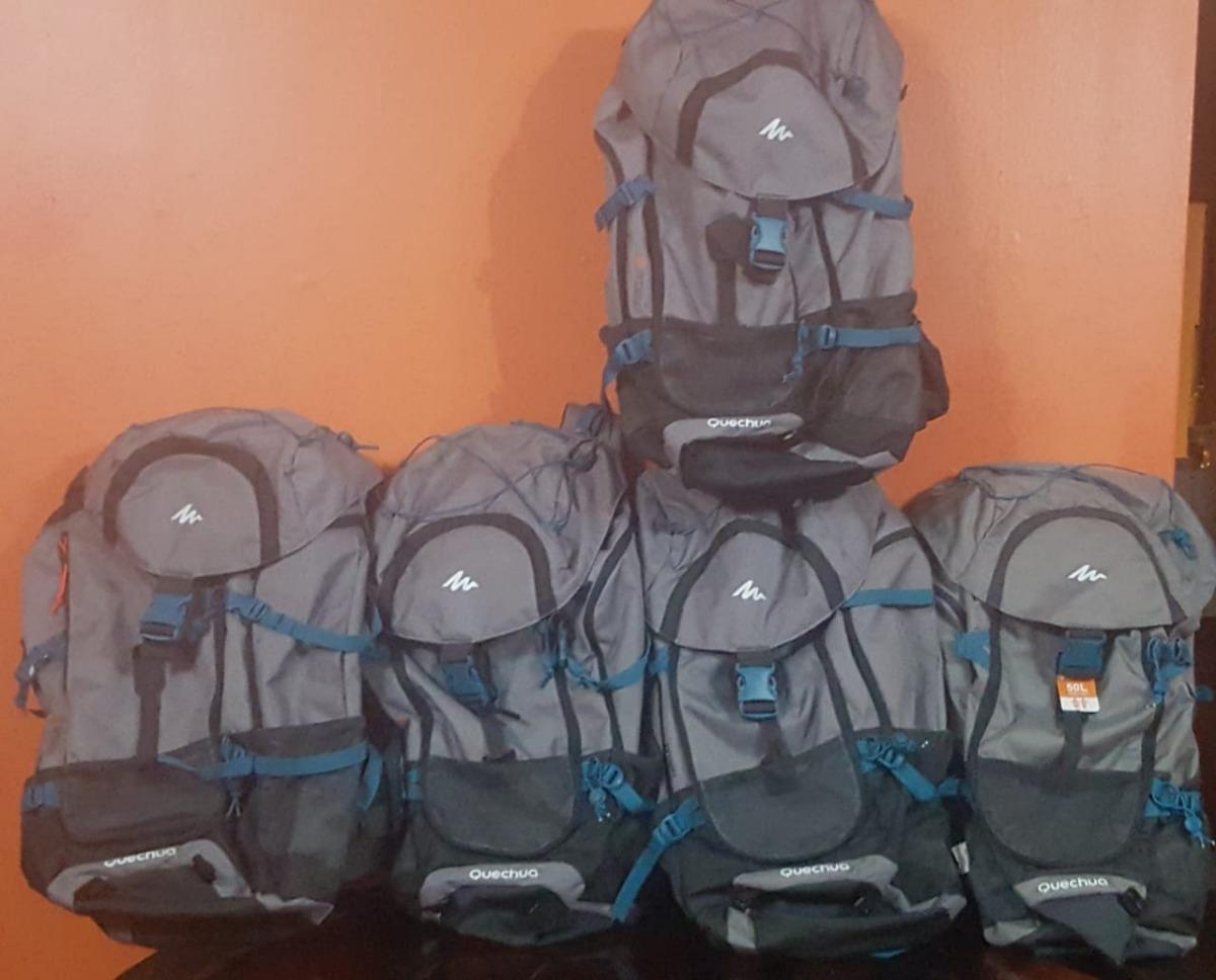 81f4c9aa6 mochila trekking quechua forclaz 50 litros. Cargando zoom.