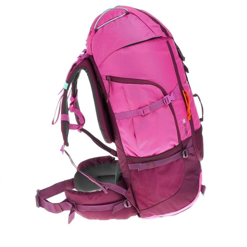 d884f2013 mochila trekking quechua forclaz 50 rosa. Cargando zoom.