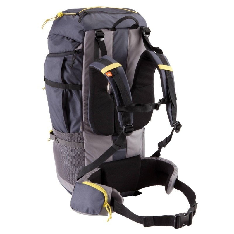 b3cb3c720 mochila trekking quechua forclaz 70 litros gris oscuro. Cargando zoom.