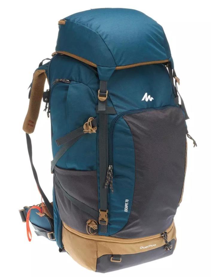 mochila trekking travel 500 de 70 litros -diferentes modelos. Cargando zoom. 8e281e1ccb0