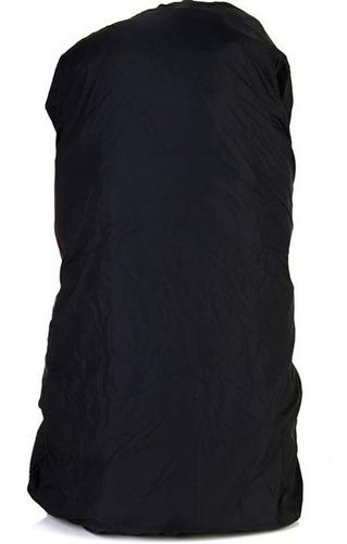 mochila trilhas e rumos crampon 92 lt - preta c/ cinza