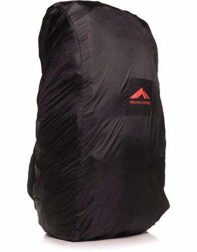 mochila trilhas e rumos transglobe 78 cor preta - original