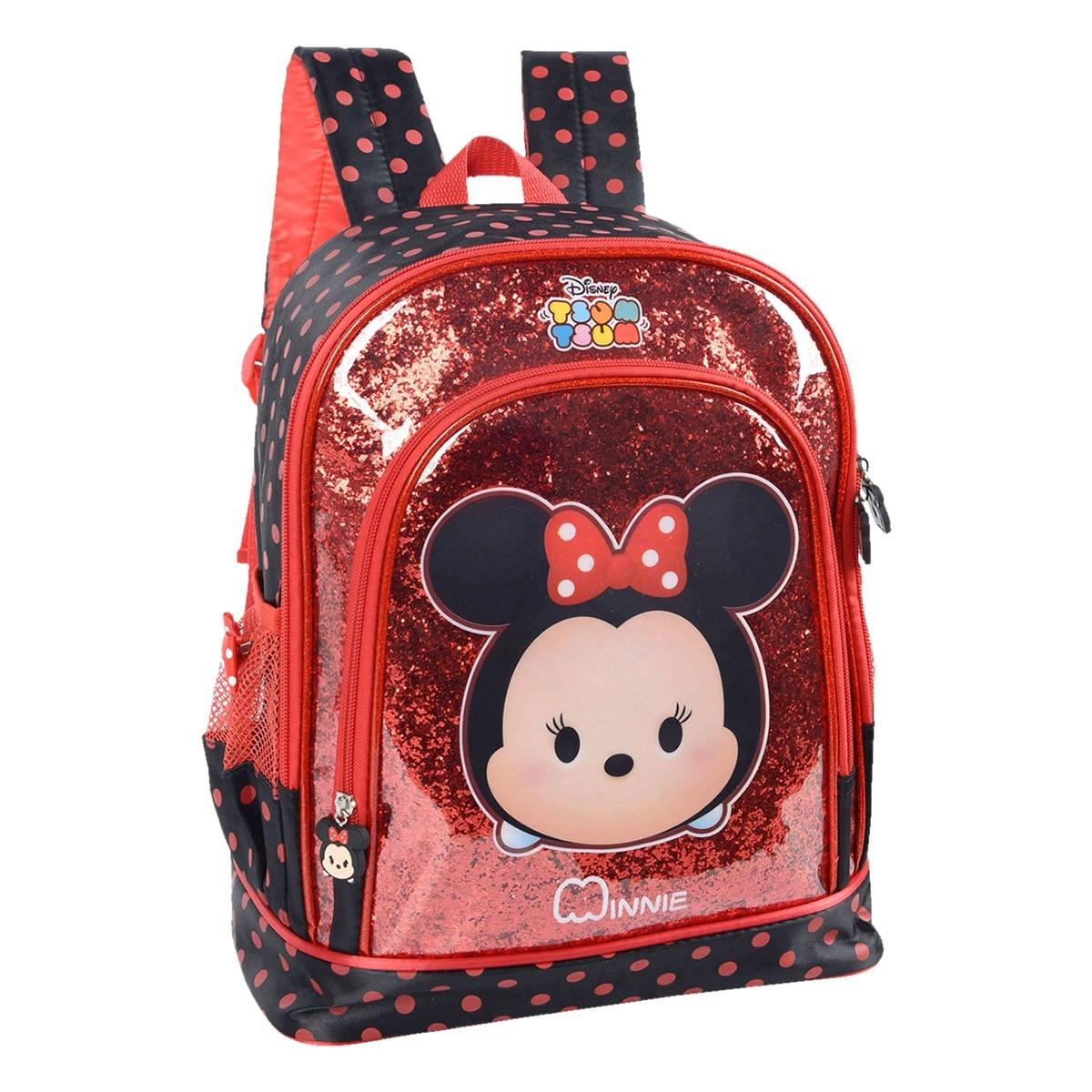 baratas para descuento 30fe3 e5d22 Mochila Tsum Tsum Minnie Disney De Costa Tamanho M