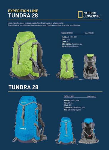 mochila tundra 28 litros national geographic trekking