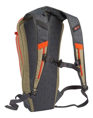 mochila unisex fury 6 h2pro backpack negro lippi