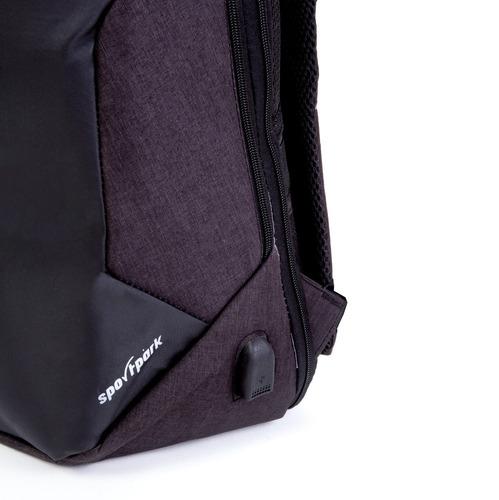 mochila universidad antirobo porta notebook impermeable