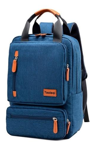 mochila urbana notebook reforzada hombre mujer viaje escuela facultad tela impermeable