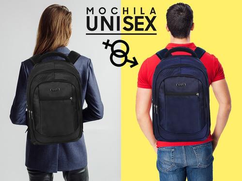 mochila urbana portanotebook ejecutiva resistente acolchada