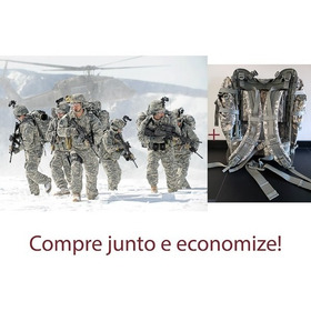 Mochila Us Army Molle Ii Grande + Conjunto Improved Rainsuit