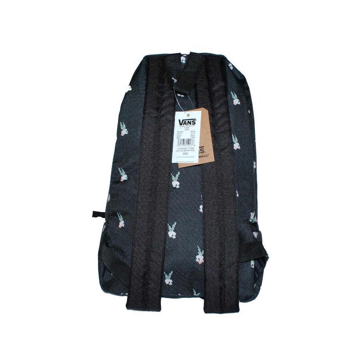 mochila vans calico negra calavera escolar juvenil remate. Cargando zoom. 8a409410201