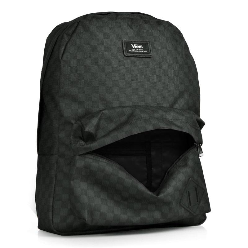 Mochila Vans Charcoal Cinza - R  229,90 em Mercado Livre c39144be06
