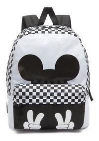 comprar popular 7fab6 66300 Mochila Vans Checkerbo Disney Mickey 90 Guantes Look Trendy