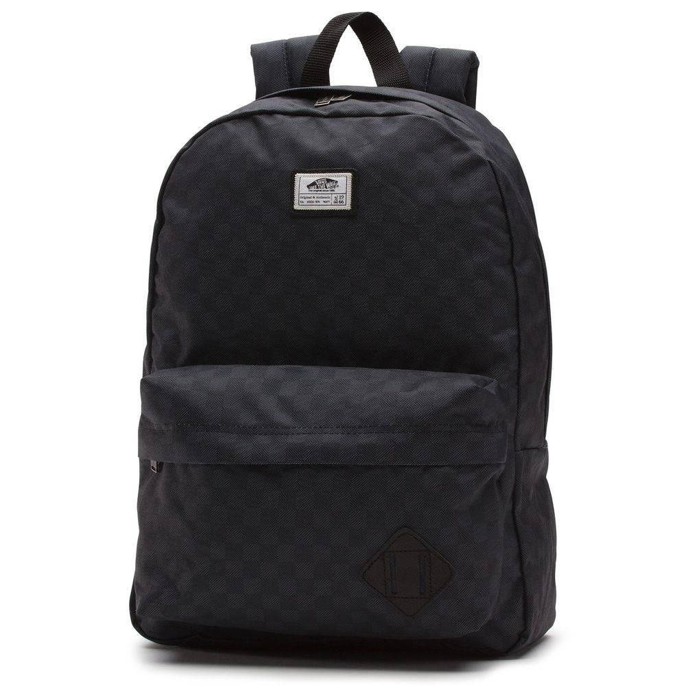 mochila vans old skool ii backpack black charcoal. Carregando zoom. 1e685e865fe
