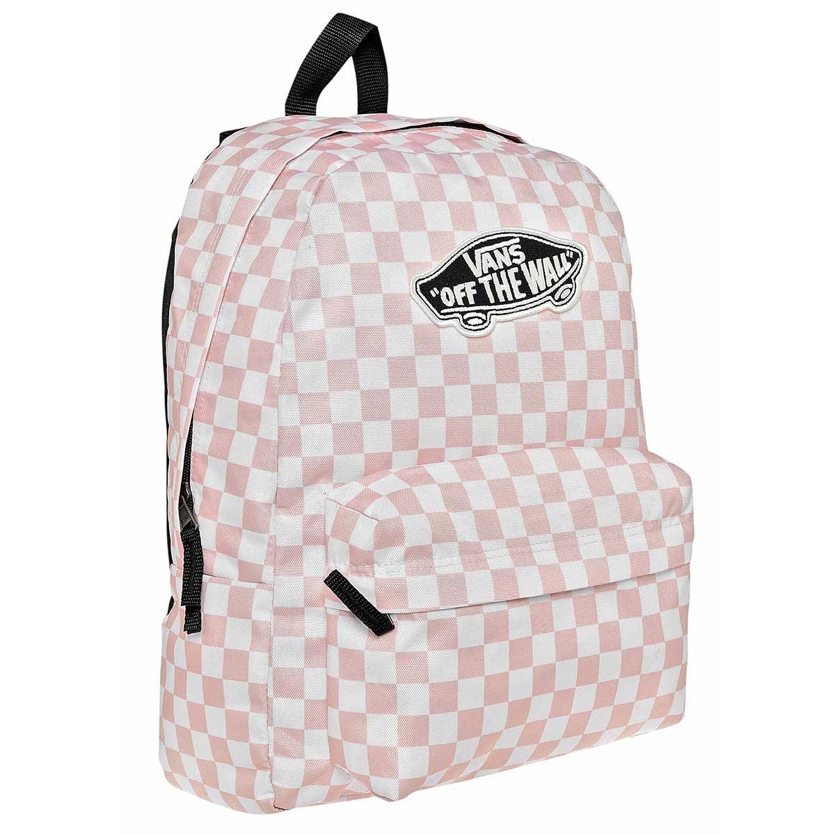 mochila vans original rosa con blanco w78318 + envío gratis. Cargando zoom. 6a8b62909a7