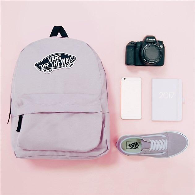 mochilas vans mujer escolares