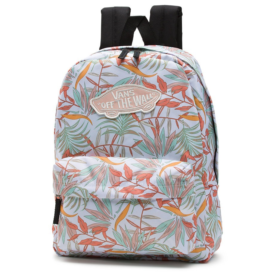 Mochila Vans Realm Backpack White California Floral