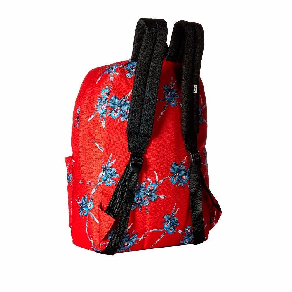 Mochila Vans Roja Floral Skate -   499.00 en Mercado Libre b3456b521e6
