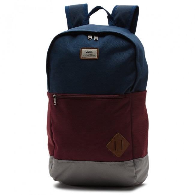 750264b84d892 Mochila Vans Van Doren Ii Azul gris Vn0a2wnukh5 Look Trendy ...