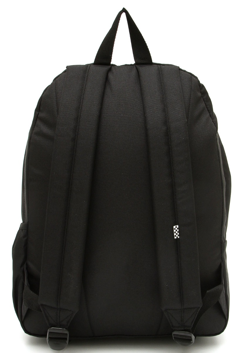 504937981375d mochila vans wm realm backpack sundaze flor - black. Carregando zoom.